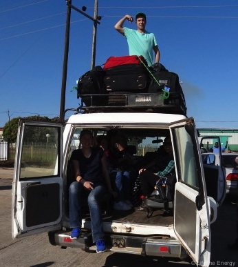 Intern Jack Bird's Bumpy Ride in Zambia