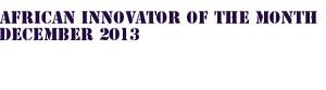 African Innovator Stamp