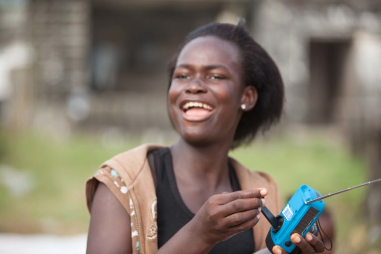 How a Little Solar Radio is Helping to Stop Ebola
