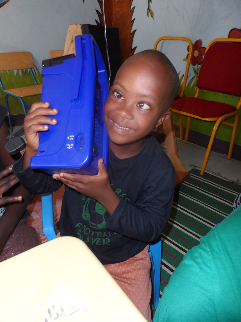 One Lifeplayer and 35 Special Children in Uganda