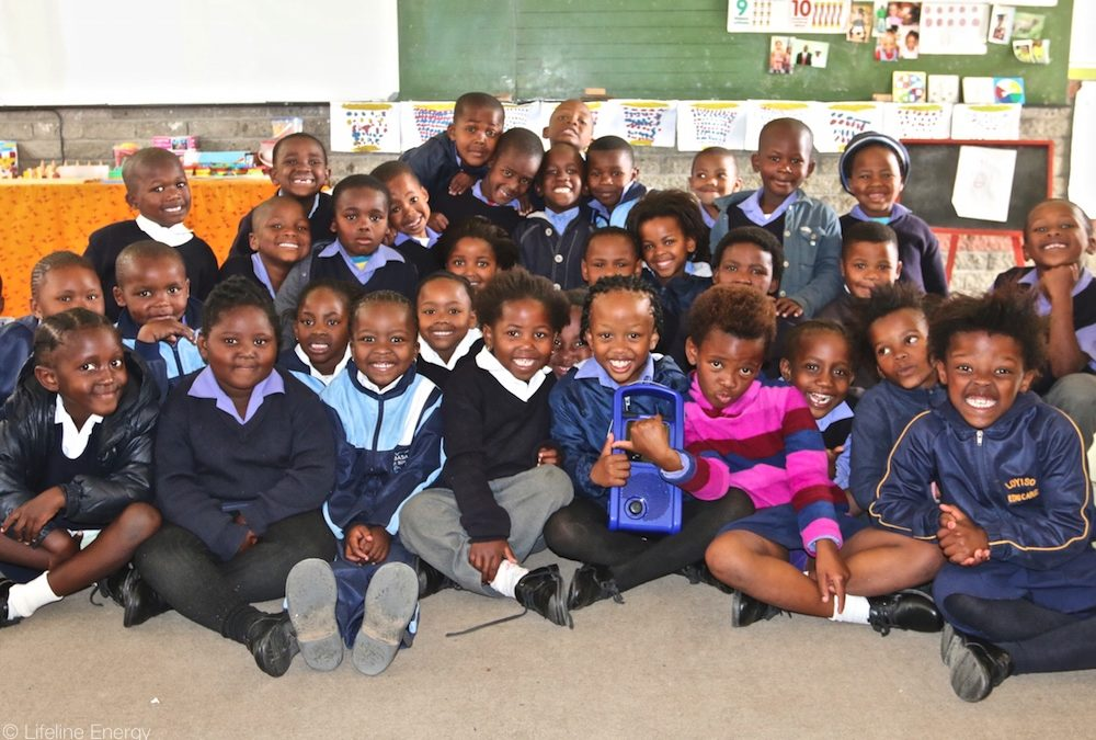 Lifeplayer in a Cape Town Township School