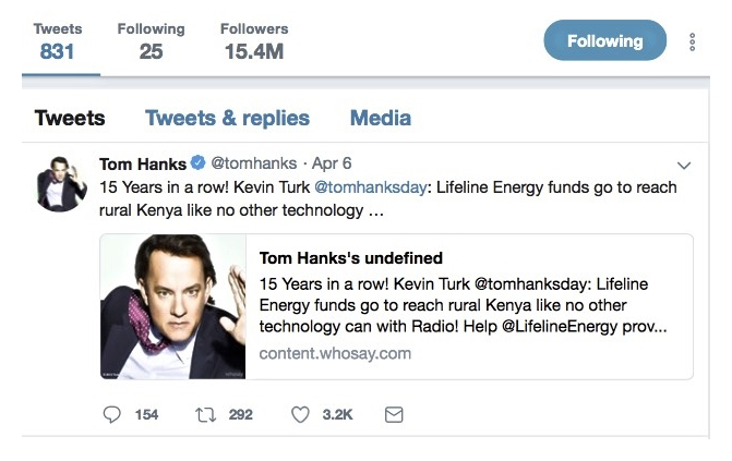 Tom Hanks Day 2018 Highlights